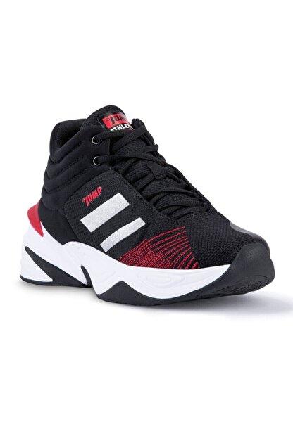 Jump Erkek Basket Spor Ayakkabı 24774 Siyah-beyaz 10s04024774 36 Numara