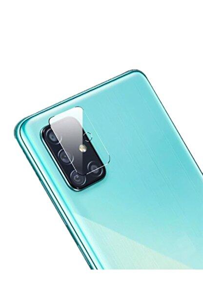 Dijimedia Samsung Galaxy A71 Uyumlu Nano Kamera Camı Kamra Koruyucu Lens