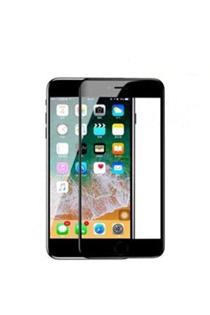 Telehome Iphone 6 Ve 6s Tam Kaplayan Kırılmaz Cam 5d 9d Ultra Cam Siyah