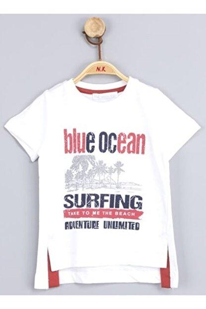NK Erkek Çocuk Beyaz Blue Ocean Tshirt