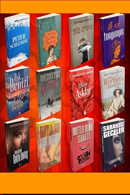 profkitap En Sevilen Aşk Romanları Seti 12 Kitap