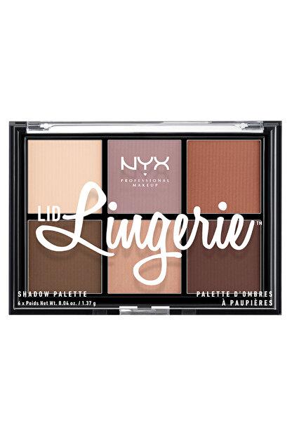 NYX Professional Makeup Göz Farı Paleti - Lingerie Shadow Palette 800897093242