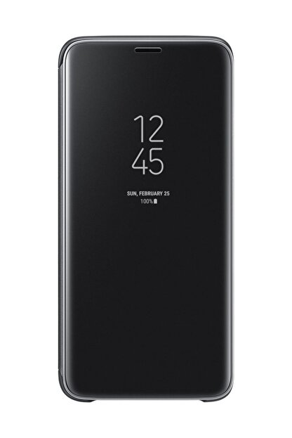 Samsung EF-ZG960CBEGWW S9 CLEAR VIEW STANDING COVER SİYAH