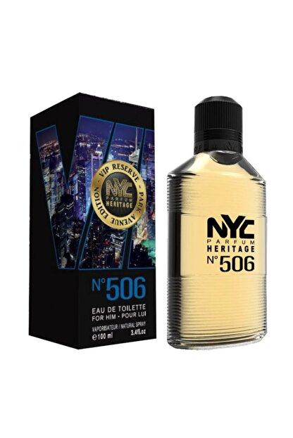 NYC Park Avenue Vip Reserve No: 506 Edt 100 ml Erkek Parfümü 875990005065