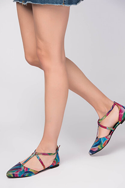 Fox Shoes Multi Kadın Ayakkabı D726537307