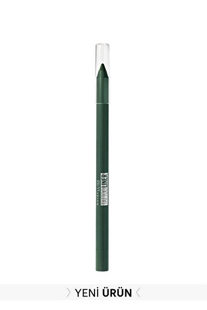 Maybelline New York Koyu Yeşil Tattoo Liner Jel Göz Kalemi 932 Intense Green 3600531531188