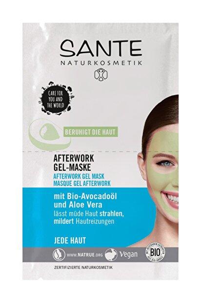Sante Yorgunluk giderici Organik Jel Maske Organik Avokado Yağı Ve Aloe Vera - 2X4 ml Saşe