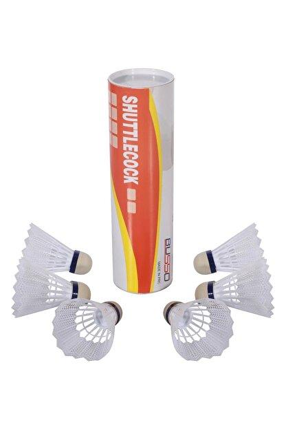 Busso BS340 Plastik Badminton Topu 6'Lı