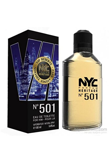 NYC Park Avenue Vip Reserve No: 501 Edt 100 ml Erkek Parfüm 875990005010