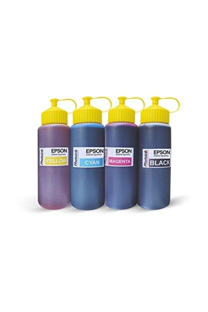 Epson L210 için Mürekkep Seti (4x500 ml)