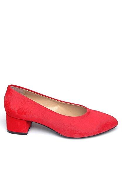 Shoes Time Kırmızı Kadın Topuklu Ayakkabı 19Y 2202