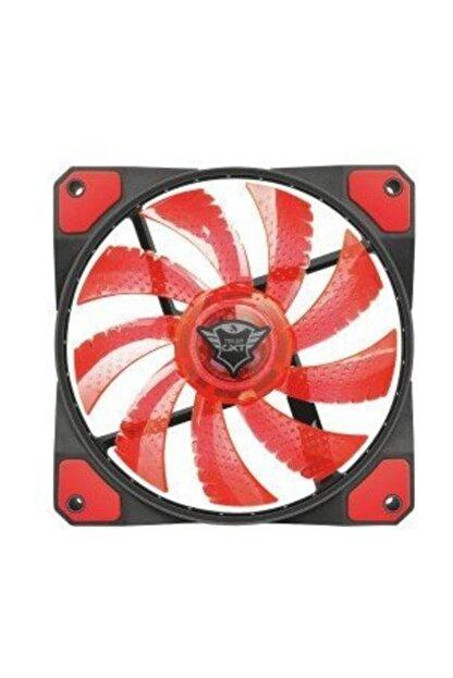 Trust 22349 GXT 762 Aydınlatmalı Kasa Fanı Kırmızı