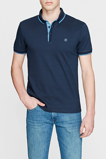Mavi Lacivert Polo Tişört