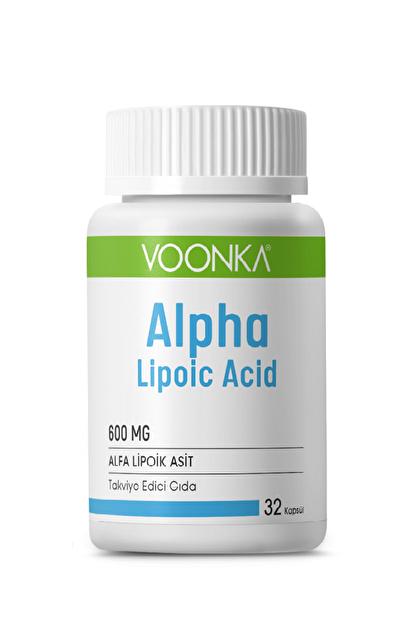 Voonka Alpha Lipoic Acid 600 Mg 32 Kapsül Skt:03/2021