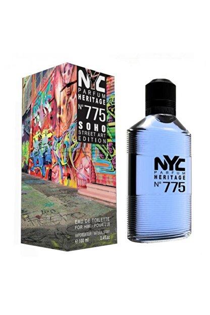NYC Soho Street Art Edition No: 775 Edt 100 ml Erkek Parfüm 875990007755