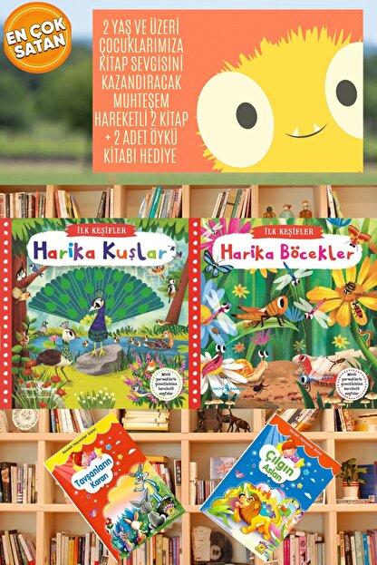 İş Bankası Kültür Yayınları 2 Yaş Ve Üzeri Çocuklarımıza Kitap Sevgisi Kazandıracak Muhteşem Hareketli 2 Kitap Ve 2 Öykü
