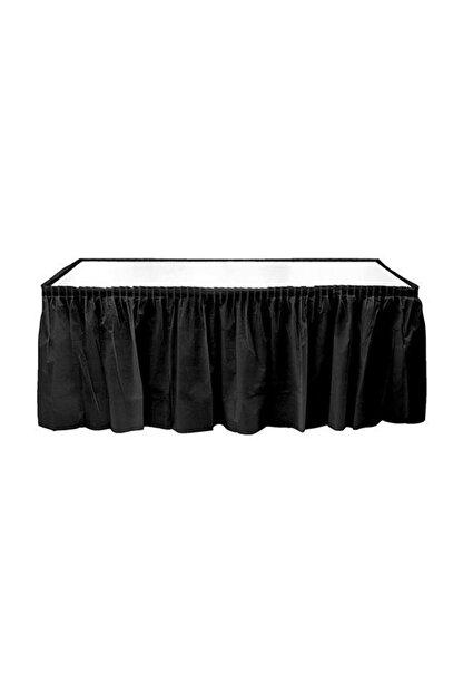 Kikajoy Siyah Plastik Masa Eteği 75x426 cm