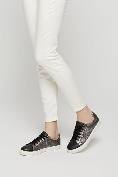 Art Bella Cs19055 Siyah Kadın Sneaker Ayakkabı 100382534