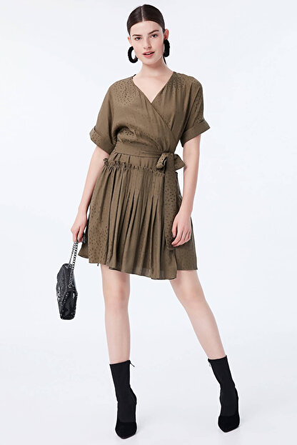 İpekyol Kadın Haki Elbise IW6180002170