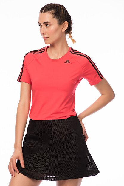 adidas D2M TEE 3S Kadın Tişört