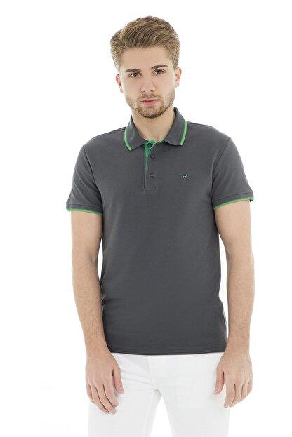 Cazador Erkek Antrasit T-Shirt - Cdr4614-19YCEEOM4614