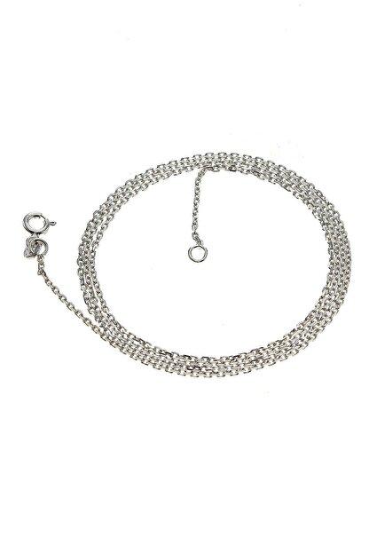 Söğütlü Silver Kadın Rodyumlu ;Kolye Zinciri(60 Cm) SGTL6372