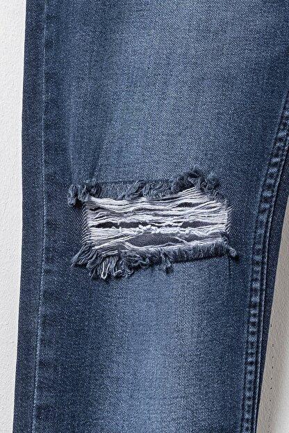LC Waikiki Erkek Koyu Rodeo Skınny Fit Jeans 0S6739Z8