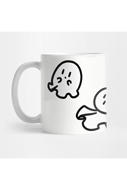 TatFast Cute Tiny Ghosts Kupa