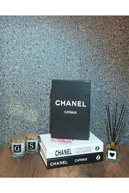İNSTAHOME Chanel Catwalk Dekoratif Kitap Kutusu