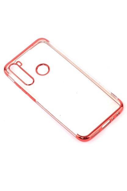Dijimedia Xiaomi Redmi Note 8 Kılıf Dört Köşeli Lazer Silikon