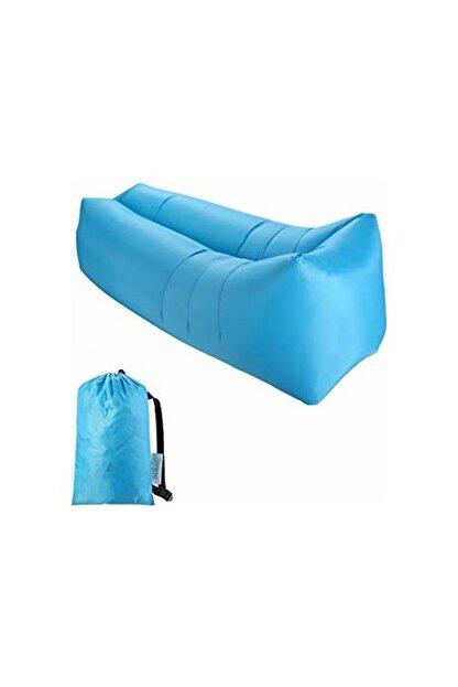 Ankaflex Mavi Hava Ile Dolan Şişme Şezlong
