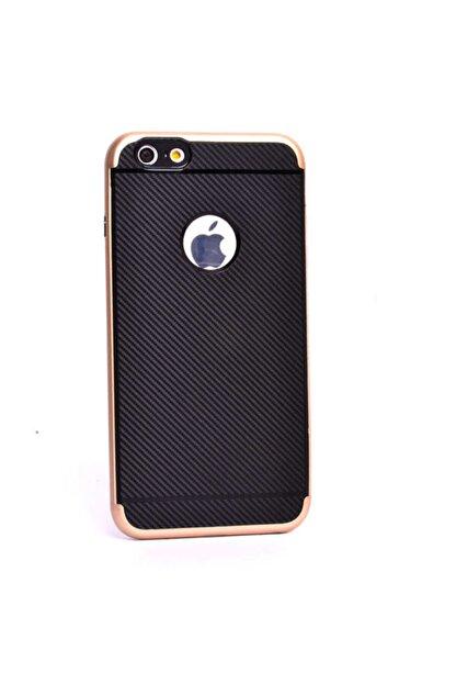 Zore Apple Iphone 6 Kılıf Ince Karbon Mono Silikon Kapak -