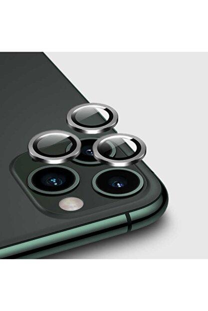 Dijimedia Apple Iphone 11 Pro Max Cl-01 Kamera Lens Koruyucu Gri