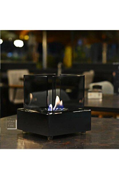 Starfire Elegence - Masaüstü Bioethanol Şömine (siyah)