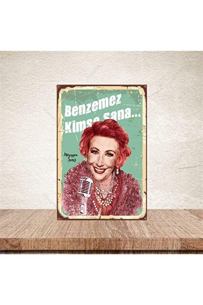 TAKIFİX Benzemez Kimse Sana  Retro Ahşap Poster