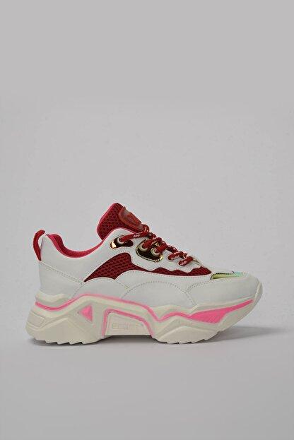 Yaya by Hotiç Beyaz Kadın Sneaker 01AYY184350A90M