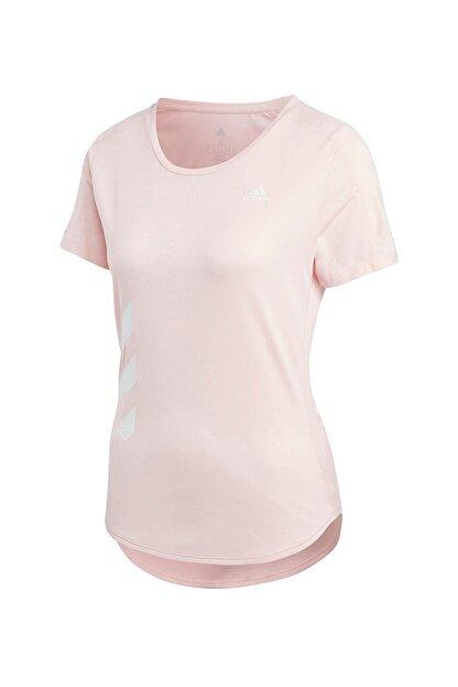 adidas Kadın Spor T-Shirt -  Run It Tee 3S W  - GC6889