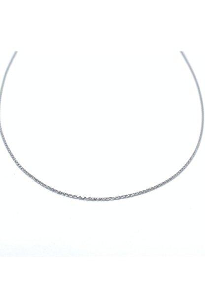 Onur Silver 925 Ayar Gümüş Zincir Kolye Kadın Erkek Rodyumlu
