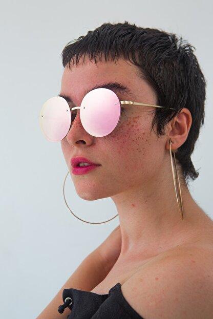 Bilge Karga Kadın Pembe Kylie Pink Mirror Güneş Gözlüğü