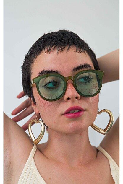 Bilge Karga Kadın Yeşi lGüneş Gözlüğü