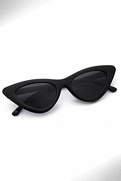 Aqua Di Polo Kadın Siyah Cat Eye Güneş Gözlüğü Pld17b198501