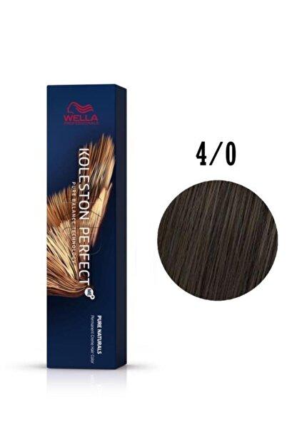 Wella Koleston Perfect Me Orta Kahve Saç Boyası 4/0 60 ml