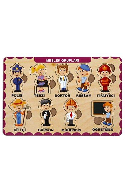 MAKETÇİNİZ Meslek Grupları Ahşap Bul - Tak Puzzle