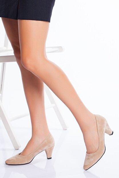 derithy -klasik Topuklu Ayakkabı-ten Süet