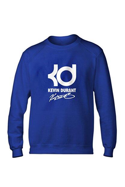 Fanatico Erkek Mavi Kevin Durant Basic Sweatshirt
