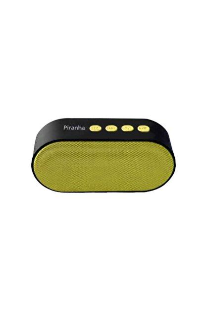 Piranha 7824 Bluetooth Hoparlör Sarı
