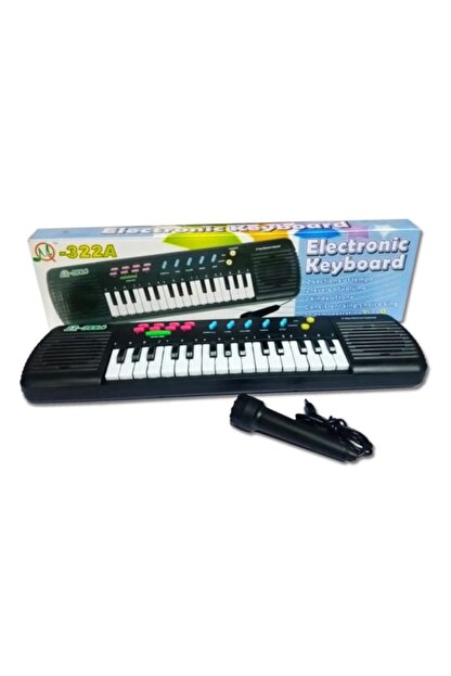 Erzi Oyuncak Mikrofonlu Org 31 Tuşlu Klavye Sesli Oyuncak Org