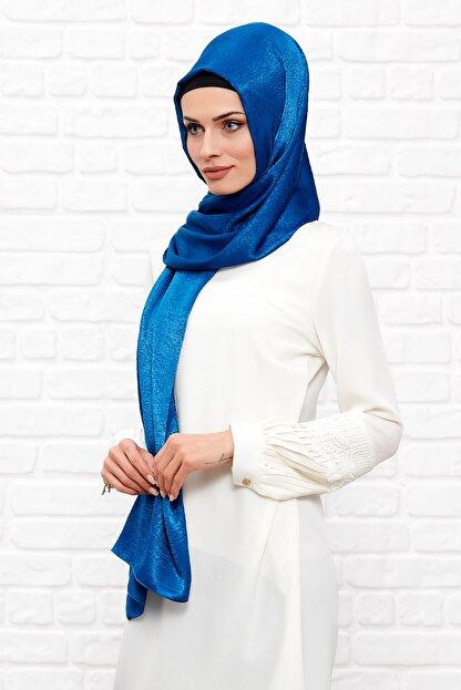 Silk Home Kadın Mavi  İpeği Şal