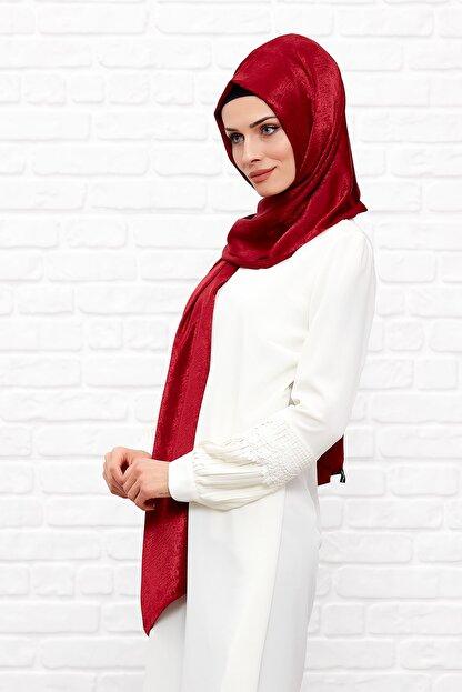 Silk Home Kadın Vişne Rengi Bambu Ipeği Şal