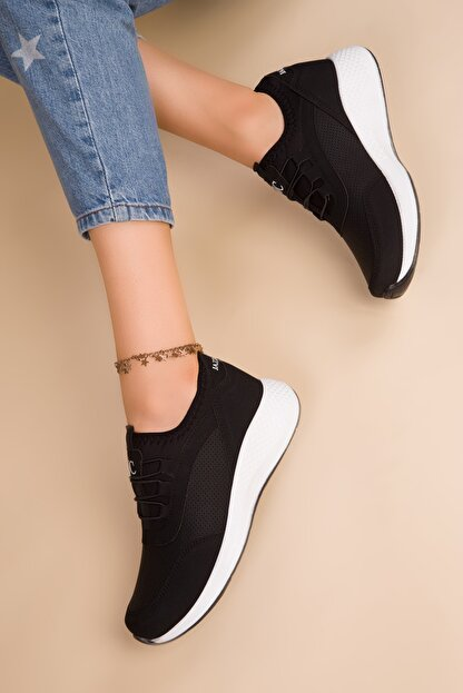 Soho Exclusive Kadın Siyah Sneaker 15226